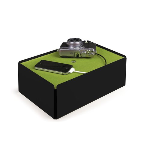 CHARGE-BOX black felt green