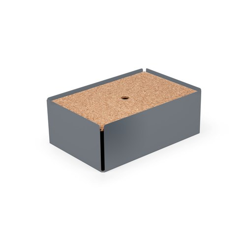 CHARGE-BOX  squirrel grey cork
