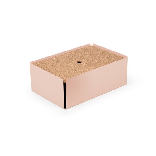 CHARGE-BOX beige red cork