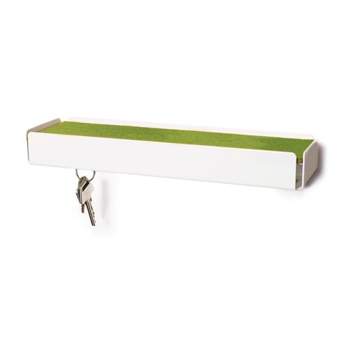 KEY-BOX white felt green