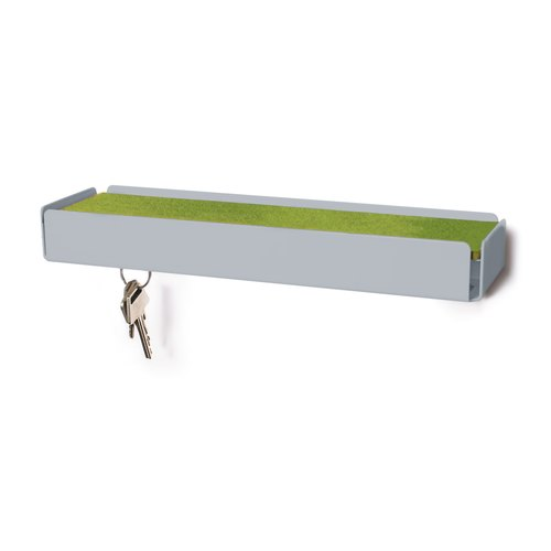 KEY-BOX squirrel grey felt green