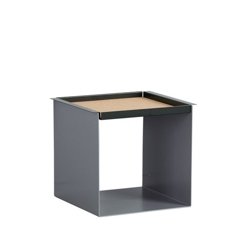 YU TRAY TABLE / grau, schwarz