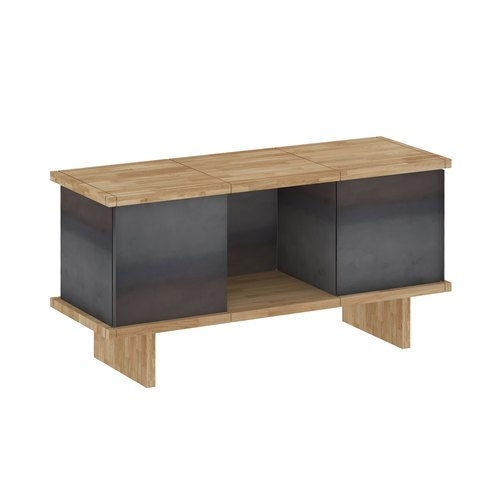 YU SIDEBOARD / 3x1 / oak tree oiled / grey