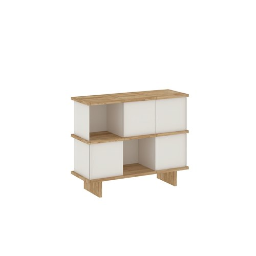 YU SIDEBOARD / 3x2 / oak tree oiled / white