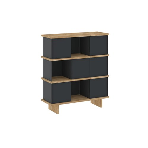YU SIDEBOARD / 3x3 / oak tree oiled / black