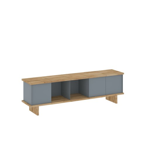YU SIDEBOARD / 5x1 / oak tree oiled / grey