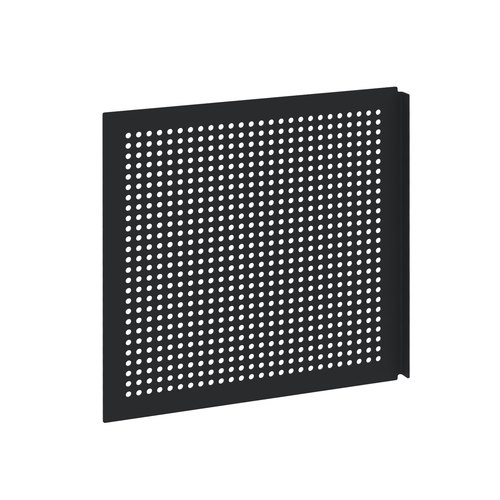 YU Door perforated steel black