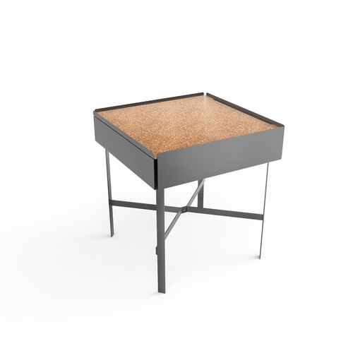 CHARGE TABLE 45 grey cork