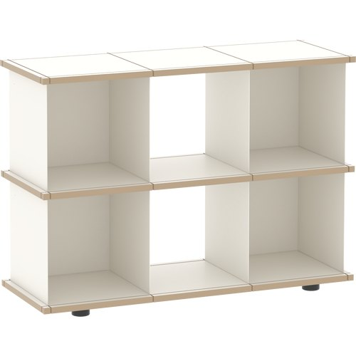 YU SHELF 3x2 MDF white